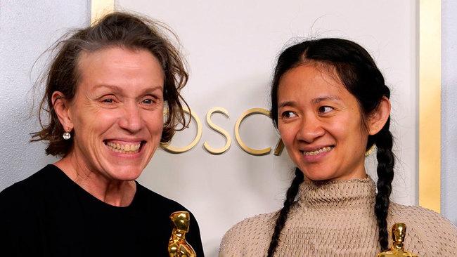 Oscars 2021 - ganadores - Nomadland - Frances McDortmand