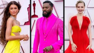 Premios Oscar 2021: los mejores vestidos y looks de la alfombra roja y...
