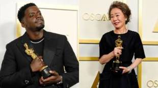 Daniel Kaluuya y Yuh-Jung Youn, Oscar a mejor actor y actriz de...