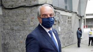El presidente del Deportivo de la Coruña, Antonio Couceiro.