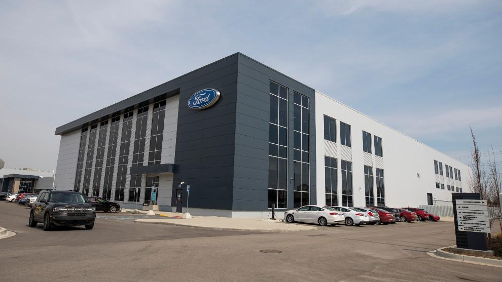 El laboratorio de baterías de Ford en Allen Park (Michigan).