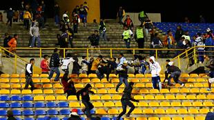 Violencia en el Alfonso Lastras.
