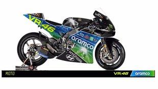 Así luciría la MotoGP de VR46, según ellos mismos.