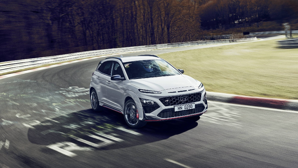 El Hyundai Kona N es el primer SUV en unirse a la familia N de Hyundai.