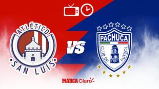 Atlético San Luis recibe al Pachuca