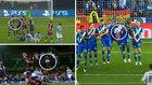 El tremendo hueco en la barrera que permitió el gol de Mahrez...