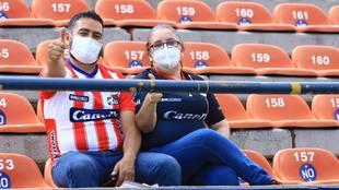 El San Luis vs Pachuca contará con aficionados en las gradas.