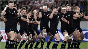 Los 'All Blacks, en el último Mundial.