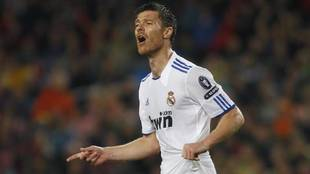 Xabi Alonso recuerdos Real Madrid