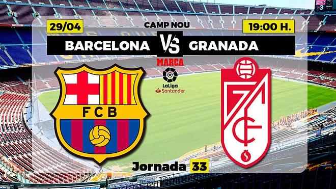Barcelona vs Granada Full Match – La Liga 2020/21