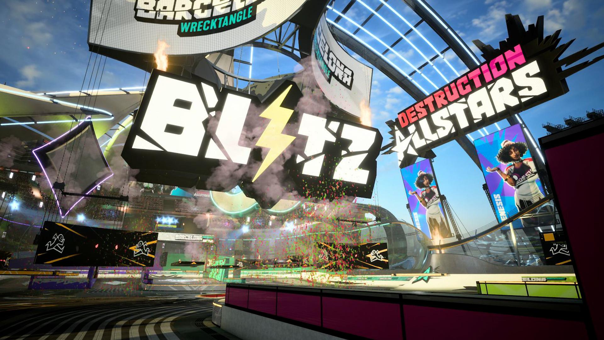 Blitz, el nuevo modo de juego de Destruction AllStars