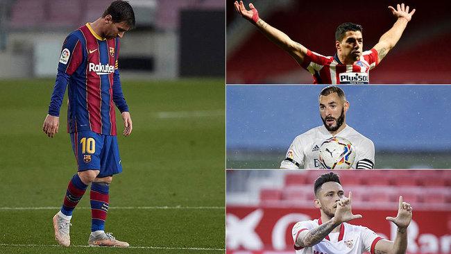 Batacazo del Barça y los cuatro primeros, en 3 puntos con este calendario