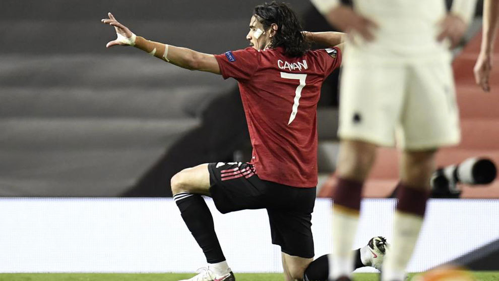 Cavani against Roma