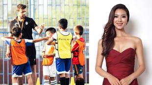 José Quero en la Academia Phoenix Elite/ Yu Wenxia en 2012 después...