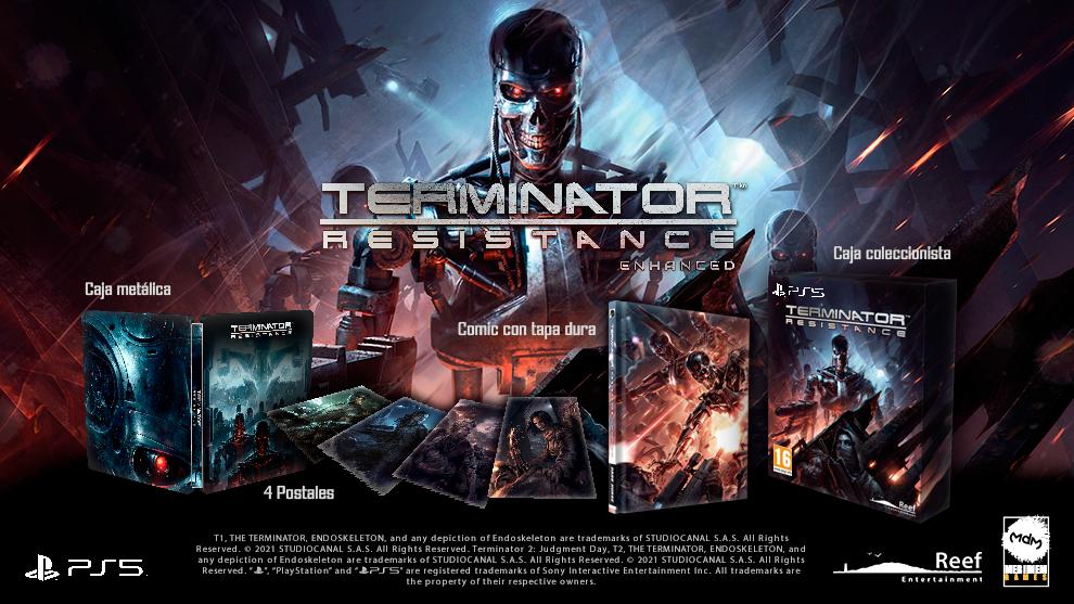 En #MARCAGaming27 sorteamos 2 Terminator Resistance: Enchaned Edición Coleccionista