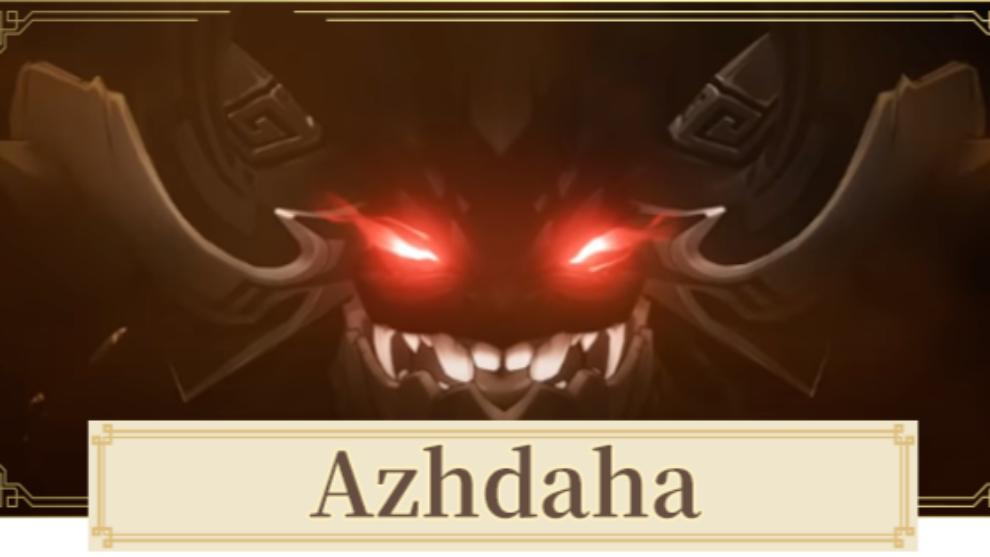 Cómo derrotar a Azhdaha en Genshin Impact