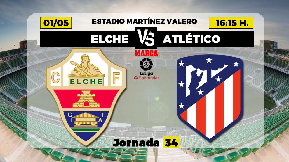 Elche vs Atletico Madrid Highlights – La Liga 2020/21
