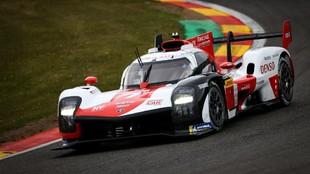 Kobayashi Toyota Hypercar pole en las 6 Horas de Spa