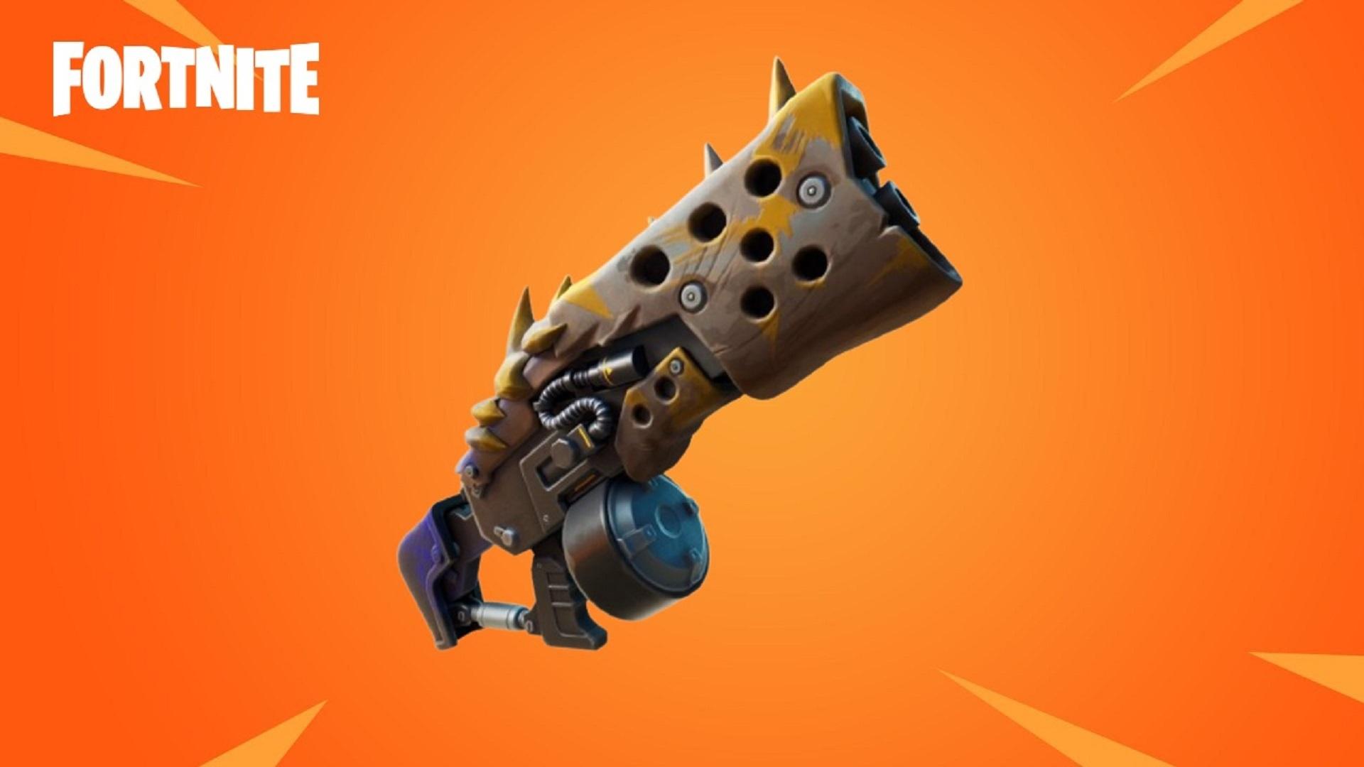 Una escopeta primitiva legendaria