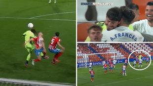 De locos: minuto 97, el Zaragoza ataca a la desesperada... ¡y gol del portero Cristian Álvarez!