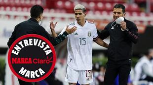 La selección mexicana olímpica jugará tres partidos en España...