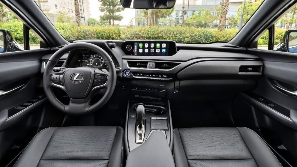 Prueba del Lexus UX 300e