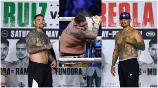 Andy Ruiz and Chris Arreola.