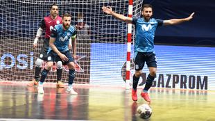 Jesús Herrero, Pola y Cecilio, en el partido de cuartos de final