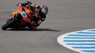 Remy Gardner, en Jerez.