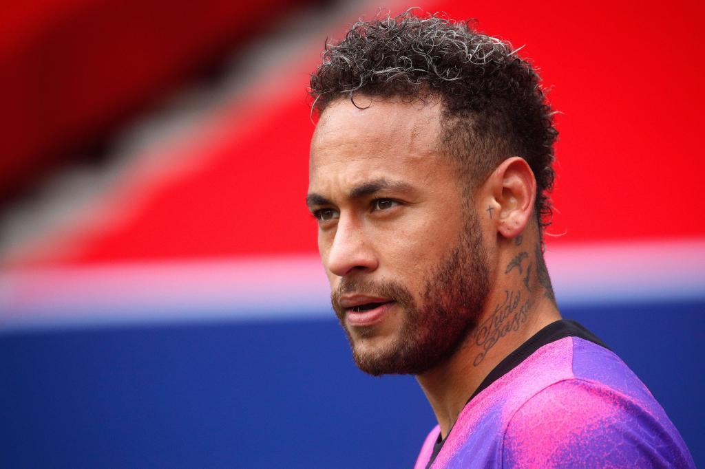 Neymar, en el choque de este sábado.