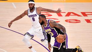 LeBron James se despide de su mejor nivel tras su lesión.