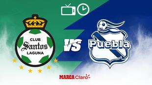 ¿Cómo, cuándo y dónde ver por TV el Santos vs Puebla de la Liga...
