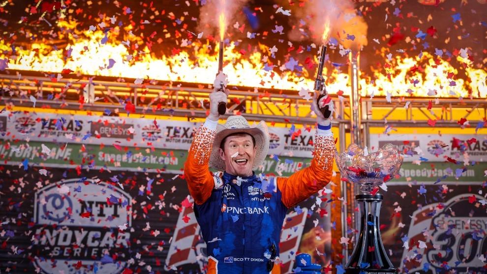 Scott Dixon gana en Texas Indycar 2021