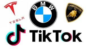 TikTok, cochesy marcas de más exito
