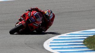 Jack Miller, hoy en Jerez.