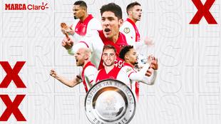 Edson Álvarez es campeón de Holanda con Ajax.