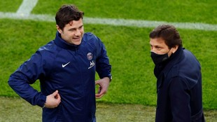 Pochettino and Leonardo
