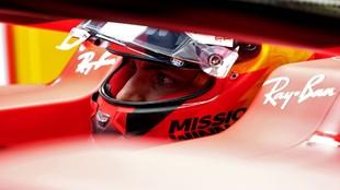 Carlos Sainz, durante el GP de Portugal 2021.