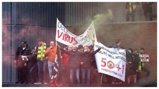 Las protestas en Old Trafford aplazan el United-Liverpool