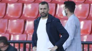 Diego Martínez, entrenador del Granada