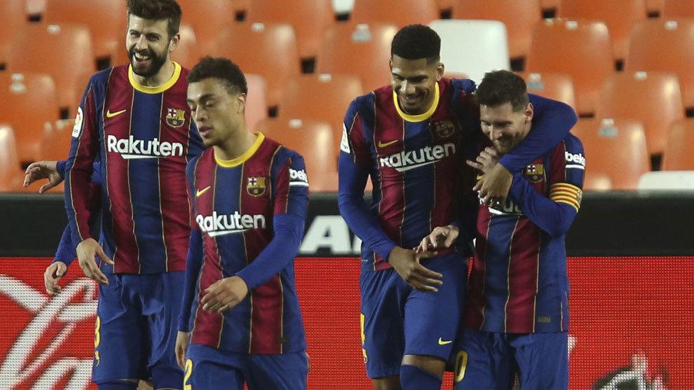 El Barça sigue a tiempo de ganar LaLiga