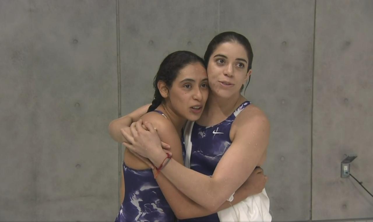 Ale Orozco y Gaby Agúndez, plaza olímpica en plataforma 10 m