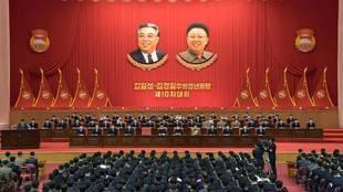 Imagen del décimo congreso en Pyongyang (Corea el Norte).