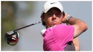 Rory McIlroy en el DP World Tour Championship 2020.