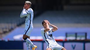 Pumas, la peor ofensiva de la Liga MX.