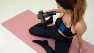 Terapia pistola de masaje