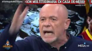 El cabreo de Alfredo Duro tras la comida en casa de Messi