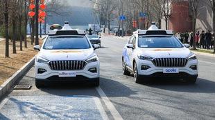 Primeros taxis autónomos comerciales en China