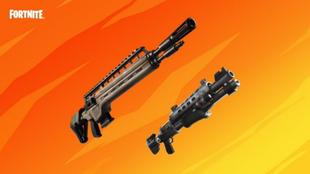 La escopeta táctica y el fusil de infantería vuelven a Fortnite....