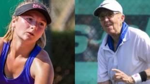 ¡Vuelve al tenis profesional... con 74 años y su reto es ganar al menos un juego!